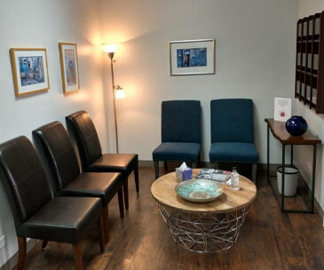 midwest center for brain health waiting room